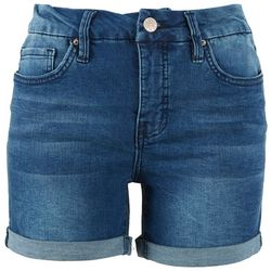 Democracy Womens Mold & Hold Denim Shorts