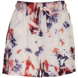 C&C California Womens Americana Tie-Dye Free Shorts