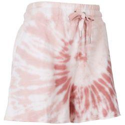 C&C California Womens Spiral Tie-Dye Shorts