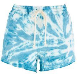 Double Zero Womens Tie-Dye Lounge Shorts
