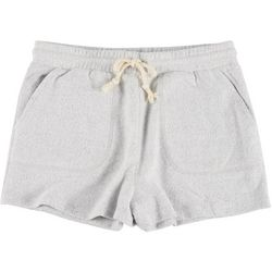 Double Zero Womens Solid Drawstring Lounge Shorts