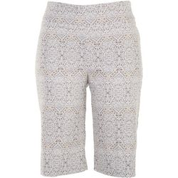 Counterparts Womens Stone Tile Bermuda Shorts