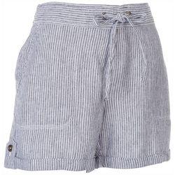 Per Se Womens Roll Cuffed Rustic Shorts