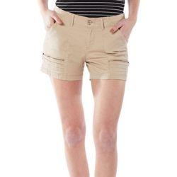 Union Bay Womens Zippered Pockets Shorts