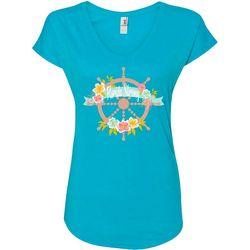 Florida Strong Womens Ship's Wheel T-Shirt