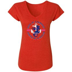 Blue Sol Womens Fitted Graphic T-Shirt