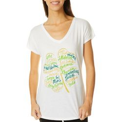 T-Shirt International Womens Florida Shamrock T-Shirt