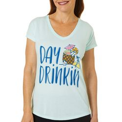 Florida Strong Womens Day Drinkin V-Neck T-Shirt