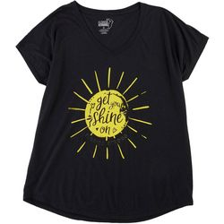 Florida Strong Womens Get Your Shine On V-Neck