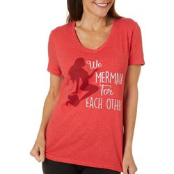 T-Shirt International Womens We Mermaid For Each Other Top