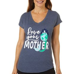 Womens Love Your Mother V-Neck T-Shirt
