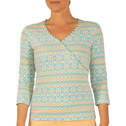 Hearts of Palm Womens Lighten the Mood Geometric