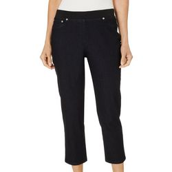Hearts of Palm Womens Rue De La Rue Solid Jegging Capris