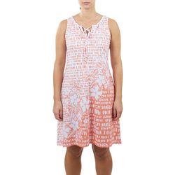 Hearts of Palm Womens Adjustable Scoop Neckline Dress