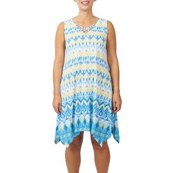 Hearts of Palm Womens Azure Dreaming Crisscross Dress