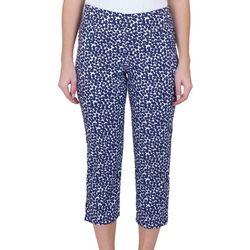 Hearts of Palm Womens Vibrant Dots Pants
