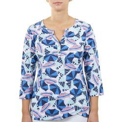 Hearts of Palm Womens All-Over Umbrella Top