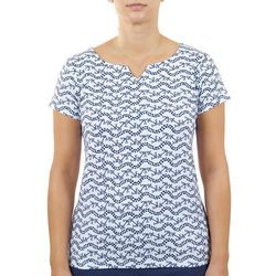 Hearts of Palm Womens Anchors Top