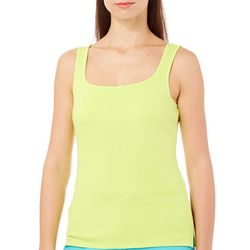 Hearts of Palm Womens Essentials Solid Knit Tank Top