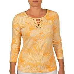 Hearts of Palm Womens Nordic Foliage Top