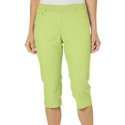 Hearts of Palm Womens In The Limelight Crop Jeggings