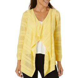 Hearts of Palm Womens In The Limelight Knit Cardigan