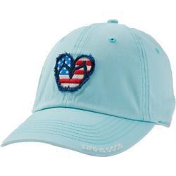 Womens Americana Flip Flop Baseball Cap