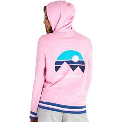 Life Is Good Womens Mountain Vibes Simply True Hoodie