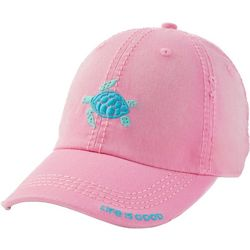 Life Is Good Womens Sea Turtle Sunwashed Chill Cap