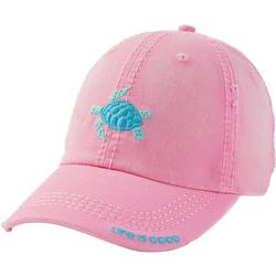 Womens Sea Turtle Sunwashed Chill Cap