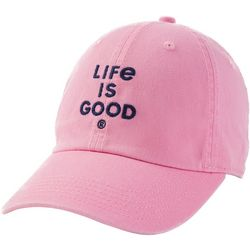 Life Is Good Womens Solid Logo Chill Cap
