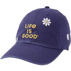 Life Is Good Womens Daisy Baseball Hat