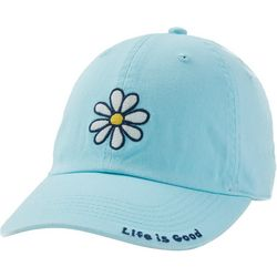Life Is Good Womens Daisy Embroidery Baseball Hat