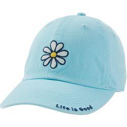Womens Daisy Embroidery Baseball Hat