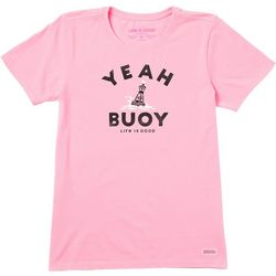 Life Is Good Womens Yeah Buoy Crusher T-Shirt