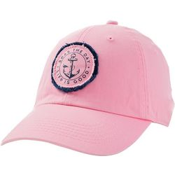 Life Is Good Womens Seas The Day Anchor Sunwashed Chill Cap