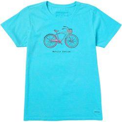 Life Is Good Womens Bike Ride T-Shirt