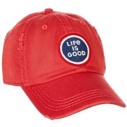 Life Is Good Mens Coin Logo Sunwashed Chill Cap
