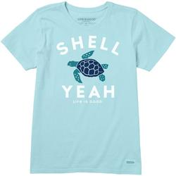 Womens Shell Yeah Crusher T-Shirt