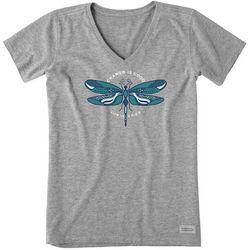 Life Is Good Womens Change Is Good Short Sleeve T-Shirt