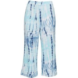 Thomas & Olivia Womens Tie Dye Pull On Pants