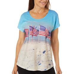 Womens Americana Beach Top