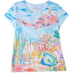 Womens Life Under The Sea Top