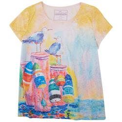 Chill Birds Pink Top