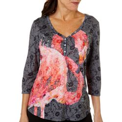 Leoma Lovegrove Womens Belle Burnout Top