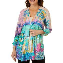 Womens Spring Break Open Front Cardigan