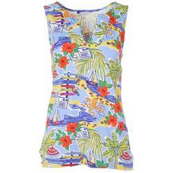 Womens Beachy Sleeveless Top