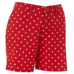 Womens Star Print Shorts