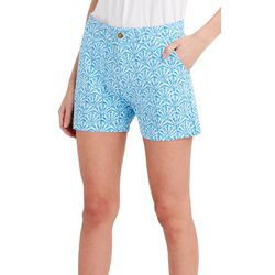 Stella Parker Womens Seashell High Waisted Shorts