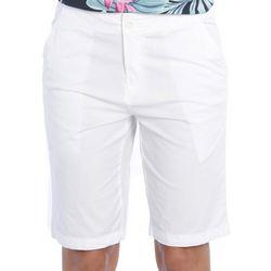 Caribbean Joe Womens Solid Chino Bermuda Shorts